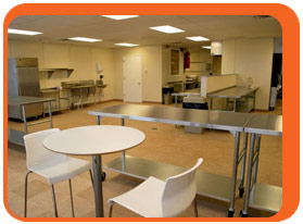 Two Commercially Licensed And Certified Kitchens Available For Hourly Or  Contract Rental
